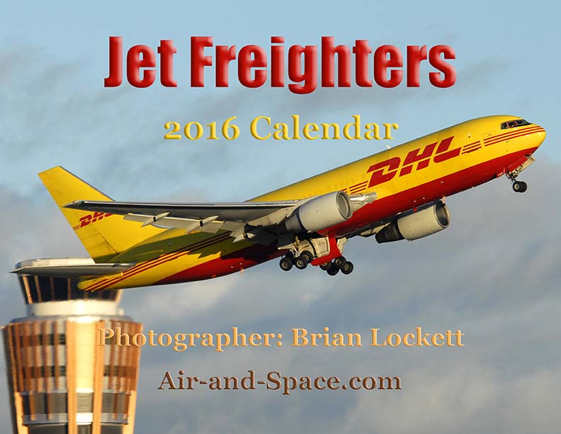 Lockett Books Calendar Catalog: Jet Freighters